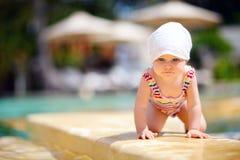 Baby op vakantie Royalty-vrije Stock Afbeeldingen