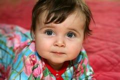 Baby op voorzijde Royalty-vrije Stock Afbeeldingen
