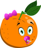 Baby orange Stock Image