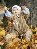 Baby outdoor Stock Image