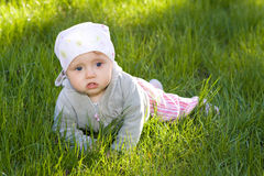 Baby outdoor Stock Photo