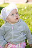 Baby outdoor Royalty Free Stock Photos