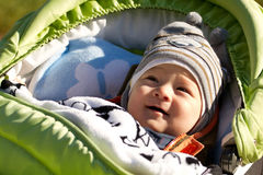 Baby Outdoors Stock Photo