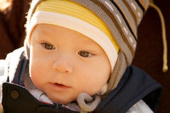 Baby Outdoors Royalty Free Stock Photo