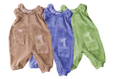 Baby outfits Stock Photography