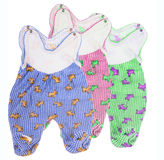 Baby outfits Royalty Free Stock Photo