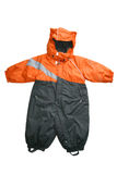 Baby outwear snow suit Royalty Free Stock Photos