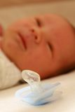 Baby pacifier Stock Images
