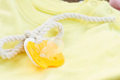 Baby pacifier close up Royalty Free Stock Photos