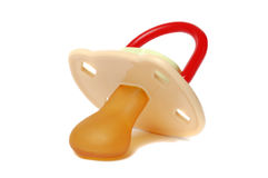 Baby pacifier-soother Stock Images