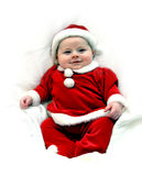 Baby Package for Christmas Stock Photography