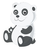 Baby panda, illustration Stock Images