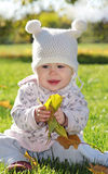 Baby in the park Royalty Free Stock Photography