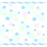 Baby party paper Royalty Free Stock Image