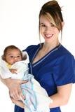 Baby Pasgeboren ` Stock Foto
