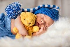 Baby pasgeboren portret Royalty-vrije Stock Afbeeldingen
