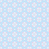Baby pastel different seamless pattern stock illustration