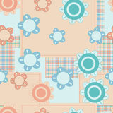 Baby patches pattern Royalty Free Stock Photo