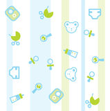 Baby pattern stock illustration