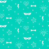 Baby pattern design. Nursery kid background. Stock Photography