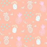 Baby pattern design. Nursery kid background. Stock Photography