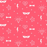 Baby pattern design. Nursery kid background. Royalty Free Stock Images