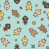 Baby pattern Royalty Free Stock Photography
