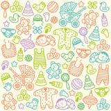 Baby pattern Royalty Free Stock Photos