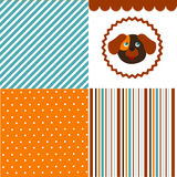 Baby pattern set Royalty Free Stock Photo