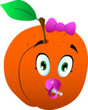 Baby peach Stock Photo