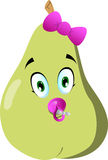 Baby pear Stock Photography