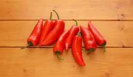 Baby peppers Stock Photos