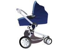 Baby perambulator Stock Photo