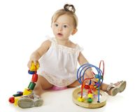 Baby-Perlen Lizenzfreies Stockbild