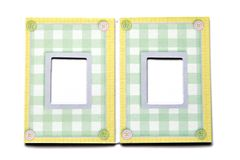 Baby Photo Frame Stock Photography