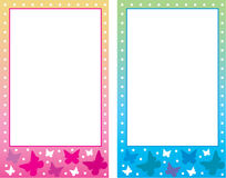 Baby photo frame. Royalty Free Stock Photography