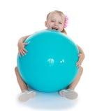 Baby photo studio. Royalty Free Stock Images