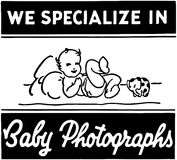 Baby Photographs Royalty Free Stock Images