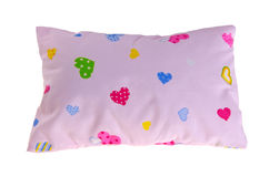 Baby pillow, small pillow for baby Royalty Free Stock Photography