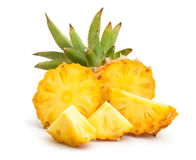 Baby pineapple royalty free stock images
