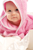 Baby in pink Royalty Free Stock Photos