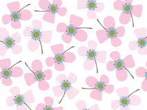 Baby pink daisies vector illustration