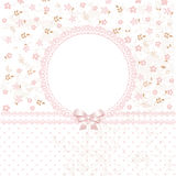Baby pink flower background Royalty Free Stock Photos
