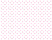 Baby Pink Hearts Seamless Background vector illustration