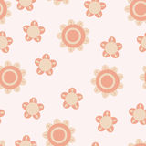 Baby pink pattern Stock Images