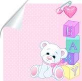 Baby pink royalty free illustration