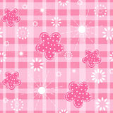 Baby pink seamless. Royalty Free Stock Photography