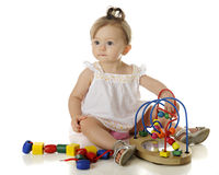 Baby Play Royalty Free Stock Images