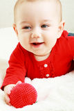 Baby play with toy Royalty Free Stock Photos