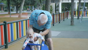 Baby in playground